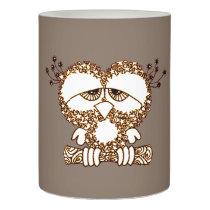 Sad Owl Flameless Candle