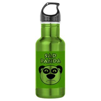 Sad Panda 18oz Water Bottle