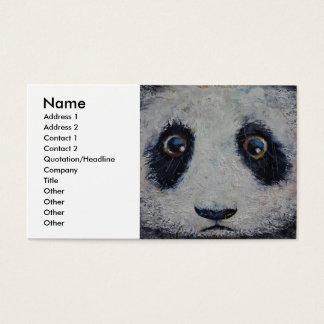 Sad Panda Business Card