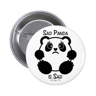 Sad Panda 2 Inch Round Button