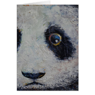 Sad Panda Card