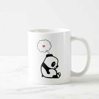 Sad Panda Classic White Coffee Mug