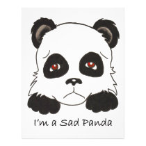 Sad Panda Custom Flyer