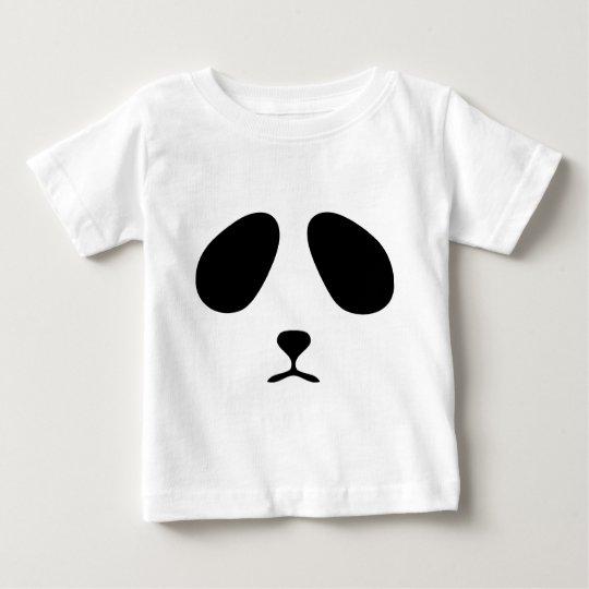 Sad panda face baby T-Shirt