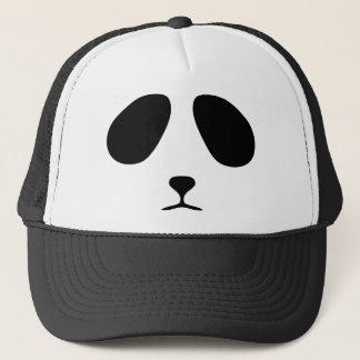Sad panda face trucker hat