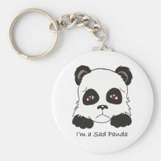 Sad Panda Key Chains