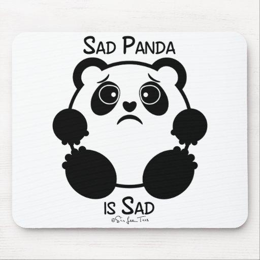 Sad Panda Mouse Pad