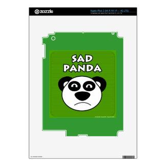 Sad Panda iPad 3 Skins