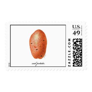 Sad Potato Stamp
