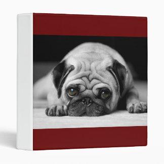 Sad Pug Binder