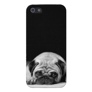 Sad Pug Case For iPhone SE/5/5s