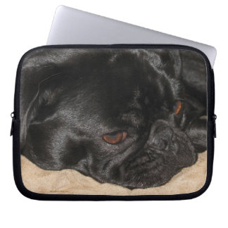 Sad Pug Electronics Bag Laptop Computer Sleeves
