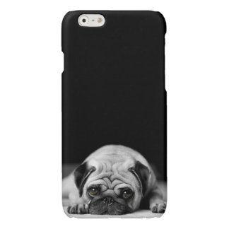 Sad Pug Glossy iPhone 6 Case