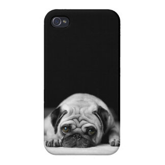 Sad Pug iPhone 4 Case