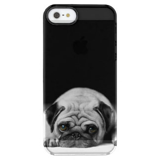 Sad Pug Uncommon Clearly™ Deflector iPhone 5 Case