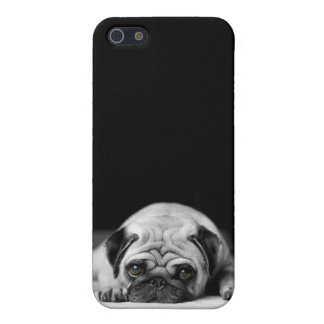 Sad Pug iPhone SE/5/5s Cover