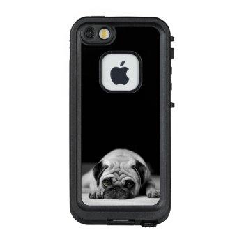 Sad Pug LifeProof FRĒ iPhone SE/5/5s Case