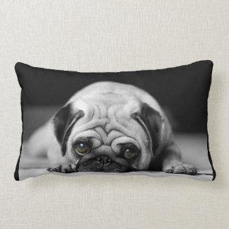 Sad Pug Lumbar Pillow