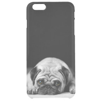 Sad Pug Uncommon Clearly™ Deflector iPhone 6 Plus Case