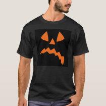 Sad Pumpkin Halloween T-Shirt