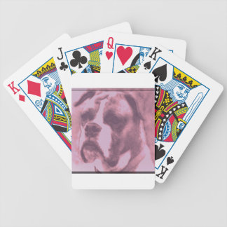 Sad Puppy Bicycle Playing Cards