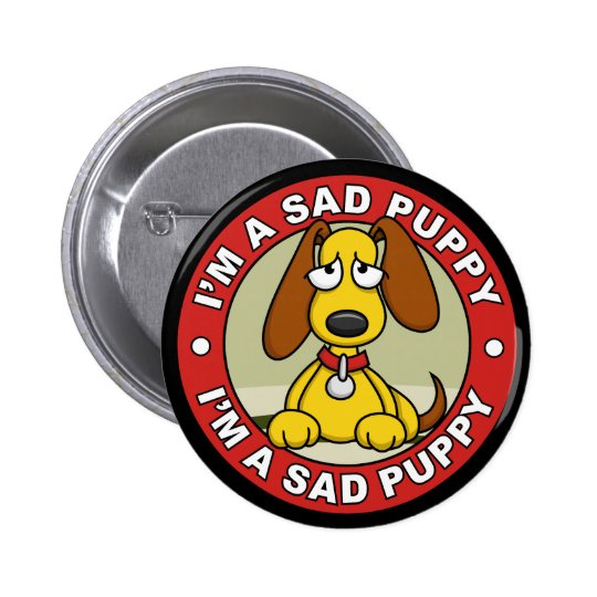 Sad Puppy Button