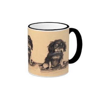 Sad puppy,  iris m. kirkwood coffee mug
