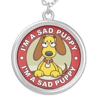 Sad Puppy Necklace