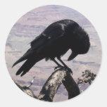 Sad Raven Stickers 01