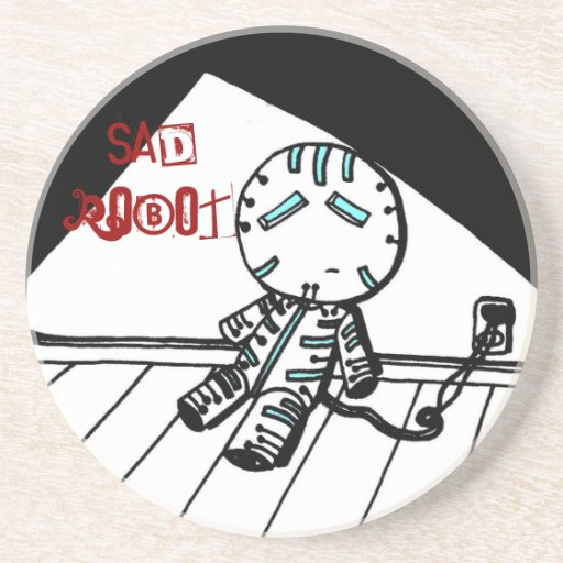 Sad Robot Coaster