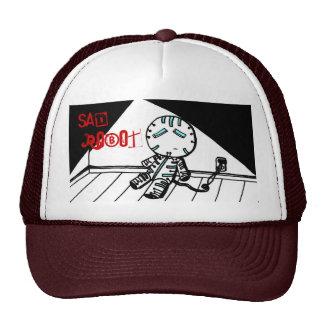 Sad Robot Hat