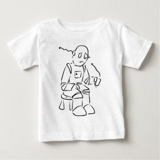 Sad Robot T Shirt