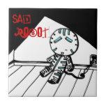 Sad Robot Tile