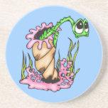 Sad Sea Creature Beverage Coasters