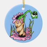 Sad Sea Creature Christmas Tree Ornaments
