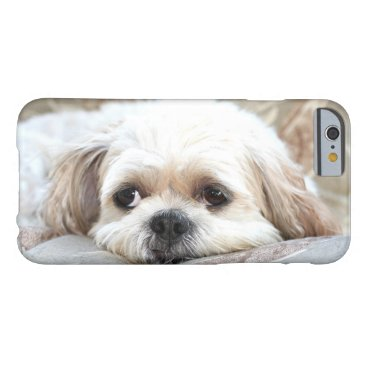 deemac1 Sad Shih Tzu face Barely There iPhone 6 Case