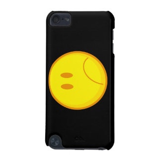sad silly frowning sad smiley face iPod touch 5G cover