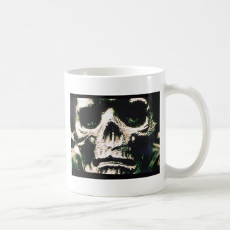 Sad Skull Coffee Mug