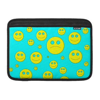 sad smile MacBook air sleeves