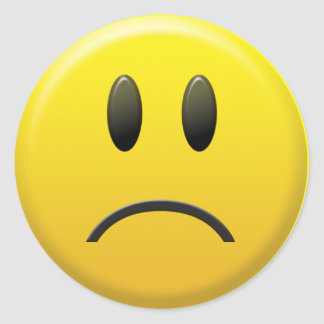 Image result for yellow frowny face