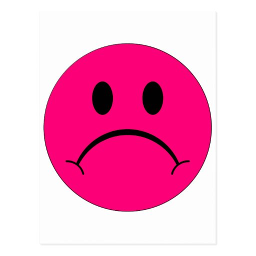 Pink Sad Face Sad smiley face happy smilePink Sad Face