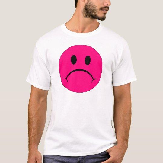 Sad Smiley Face Happy Smile Expression Smilie T-Shirt