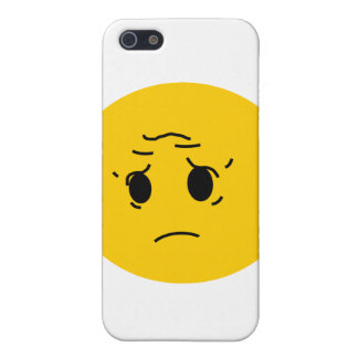 sad smiley iPhone SE/5/5s cover