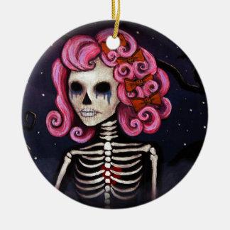 Sad Suzie Ceramic Ornament