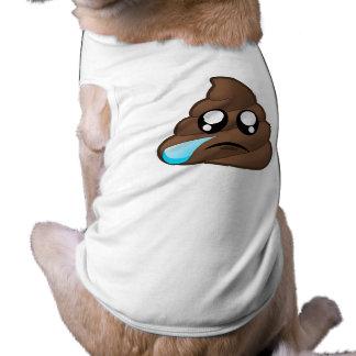 Sad Tear Poop Emoji Shirt