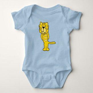 Sad Tiger Baby Bodysuit