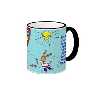 Sad to See You Go! Ringer Coffee Mug
