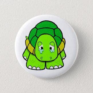 Sad tortoise button