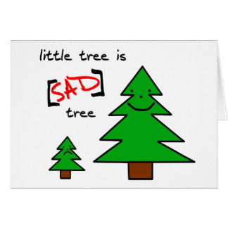 Sad Tree Card