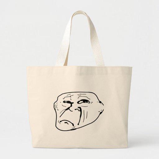 Sad Troll Tote Bag